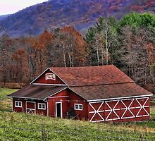 The Barn in the foothills by vigor
