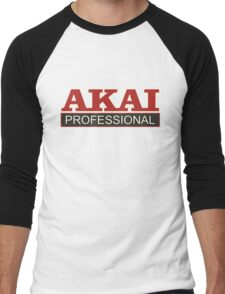 Akai Professional Men's Baseball ¾ T-Shirt