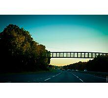 Drive Home Photographic Print