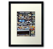 Capri Deli Framed Print