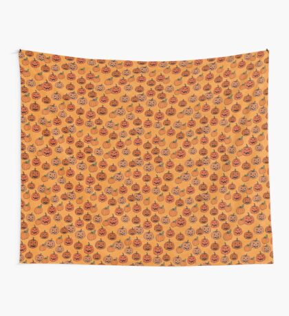 The Pumpkin Patch Halloween or Thanksgiving Wall Tapestry