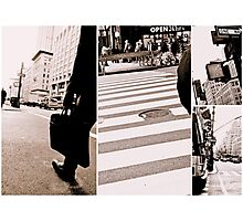 life in nyc Photographic Print