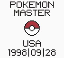 Pokemon Master USA 1998/09/28 by StillVio