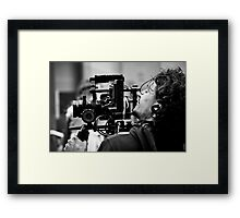 The Camera Man Framed Print