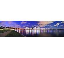 Perth City of Lights Photographic Print
