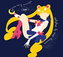 She's the one named Sailor Moon by Rachael Thomas