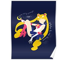 She's the one named Sailor Moon Poster