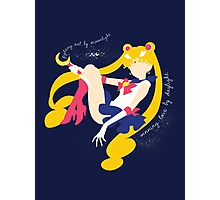 She's the one named Sailor Moon Photographic Print