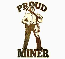 coal miner pick axe shovel retro Unisex T-Shirt