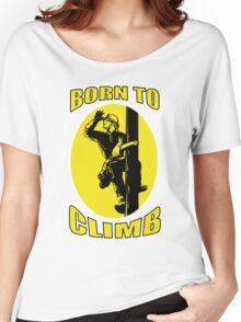 power lineman electrician repairman pole retro Women's Relaxed Fit T-Shirt