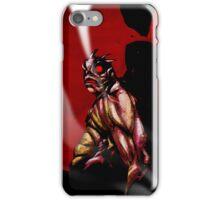 The Horror - Sentry Demon iPhone Case/Skin