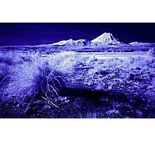 Mt Ngauruhoe, Infrared Photographic Print
