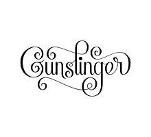 Gunslinger (Alternate) Photographic Print