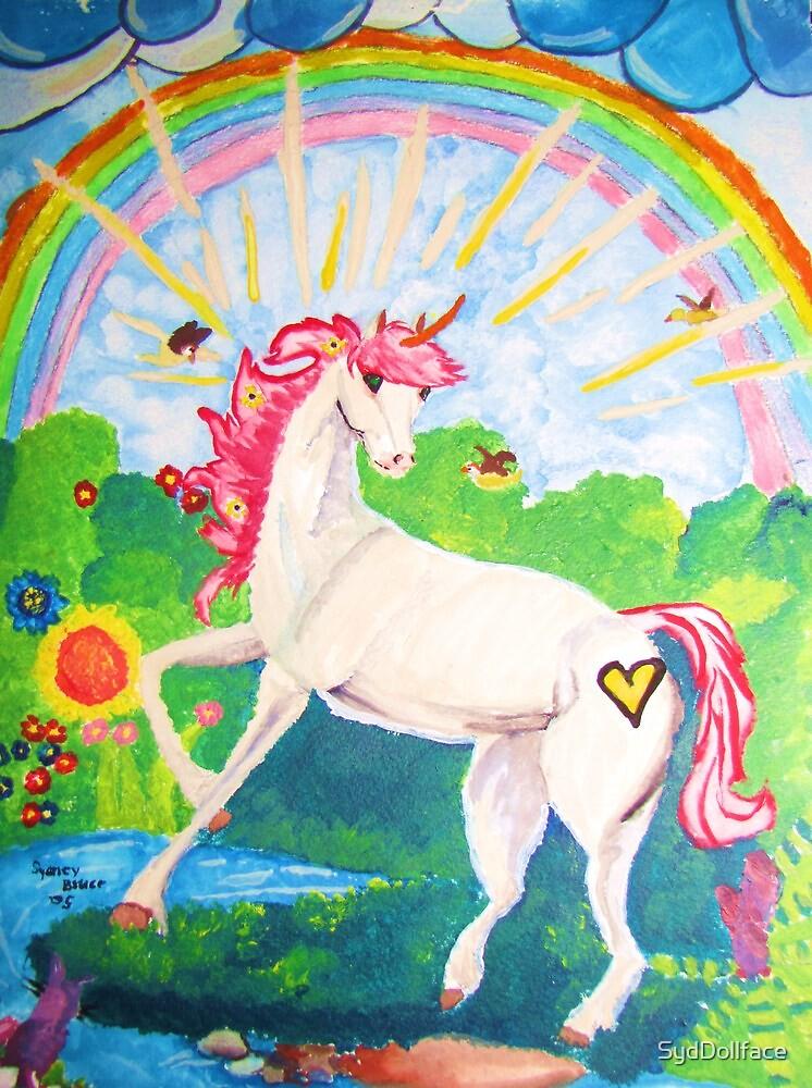 Yoyo the Unicorn by SydDollface