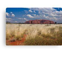 Uluru, central Australia Canvas Print