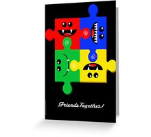FRIENDS TOGETHER Greeting Card