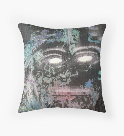 Treepeekers Visions: Family Portrait Throw Pillow