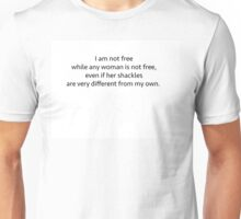 Audre Lord Quote Unisex T-Shirt