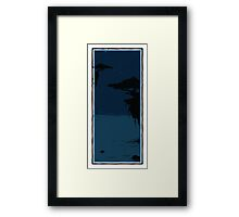Two Trees - Water 1 Framed Print