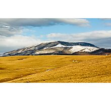 Beartown Mountain in Winter Photographic Print