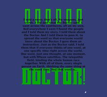 Doctor Who Countdown Unisex T-Shirt