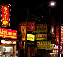 Chinatown North Side of Dundas From Spadina by Gary Chapple