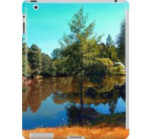 The lonely tree at the pond iPad Case/Skin