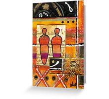Companions I Greeting Card