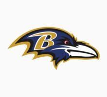 Baltimore Ravens Logo 1 One Piece - Long Sleeve