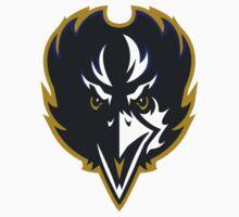Baltimore Ravens Logo 2 Baby Tee