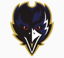 Baltimore Ravens Logo 3 Baby Tee