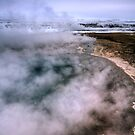 Up to the Surface - Strokkur Geyser, Geysir, Iceland by Matthew Kocin