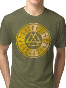 Protection Runes - Walknut Tri-blend T-Shirt