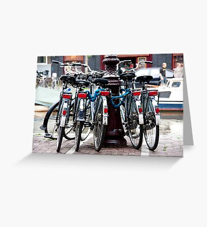 Dutch Bicycles Greeting Card