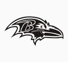 Baltimore Ravens Logo 5 One Piece - Short Sleeve