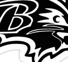 Baltimore Ravens Logo 5 Sticker
