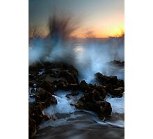 Dawn Explosion Photographic Print
