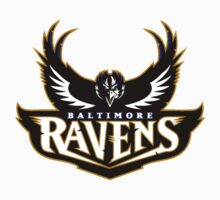 Baltimore Ravens Logo 6 One Piece - Long Sleeve