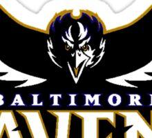 Baltimore Ravens Logo 6 Sticker