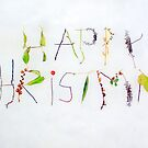 Twig and leaf Christmas card by Esther  Moliné