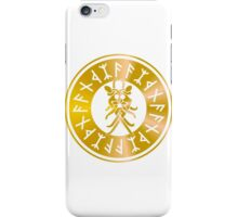 Protection Runes - Odins Mask iPhone Case/Skin