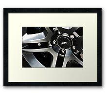 Shelby Cobra SVT Wheel  Framed Print