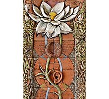 Lotus VII: sense doors - blossoming crown Photographic Print