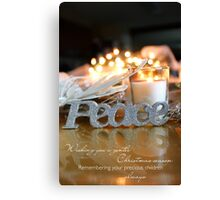 Christmas Wishes (multiple loss) Canvas Print