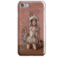 Girl 13 | smudged mascara iPhone Case/Skin