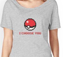 I Choose You - Pixel Pokeball Women's Relaxed Fit T-Shirt