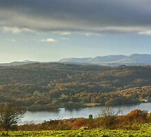 Lake District Views...Across Windermere by Jamie  Green