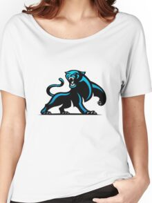 Carolina Panthers Logo 4 Women's Relaxed Fit T-Shirt