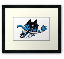 Carolina Panthers Logo grr Framed Print
