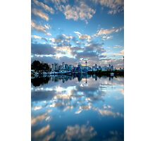 Mirrored Clouds Photographic Print